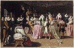Bal à la cour d'Henri IIII (Louvre)