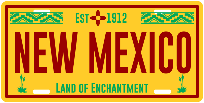 NM License-Plate