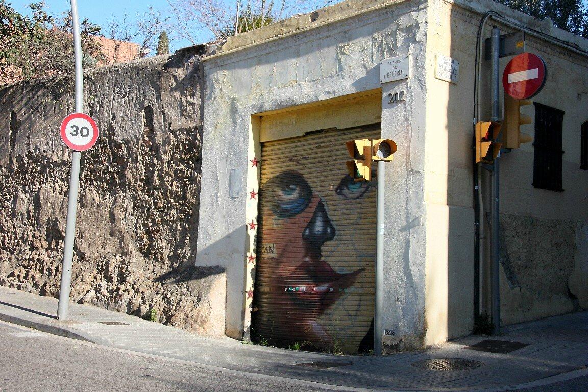 Barcelone, art urbain_5225