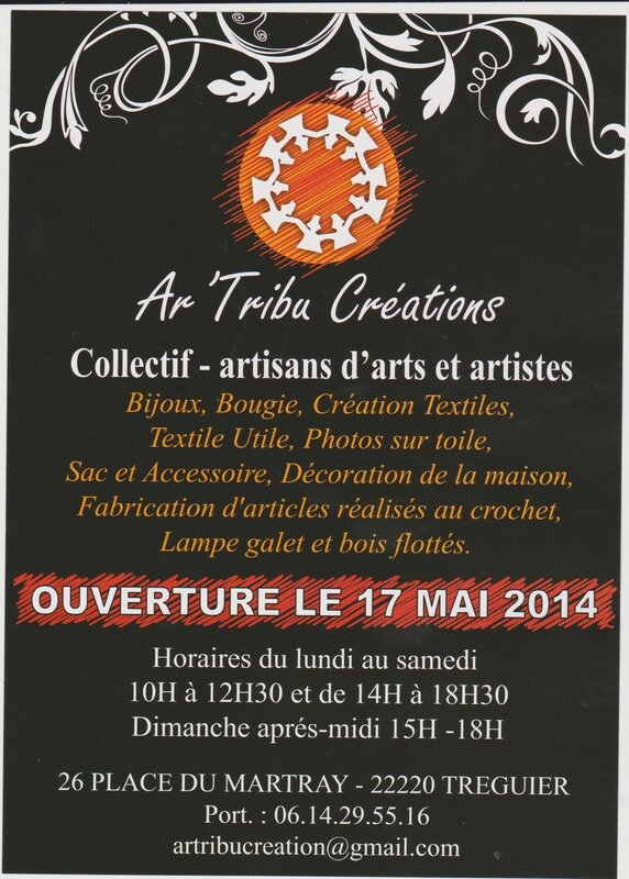 art tribu tréguier boutique 17 mai