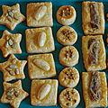 Petits biscuits au fromage pour l'aperitif