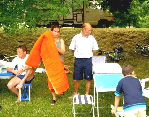 Pique nique Chemillé sur Indrois, 2004
