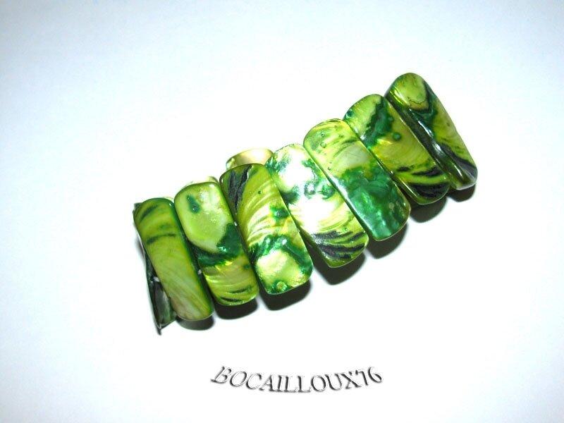 Bracelet NACRE 2 Vert (5)