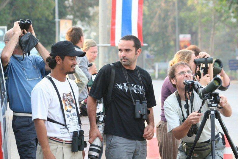Mr A, Gilles et moi