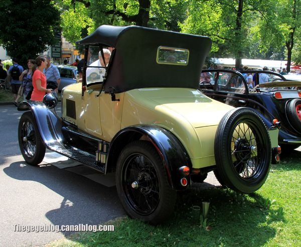 Ford type T runabout de 1926 (37ème Internationales Oldtimer Meeting de Baden-Baden) 02
