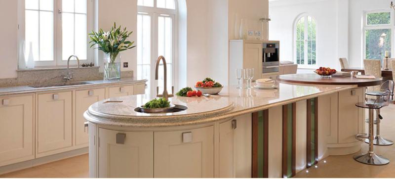 contemporary-white-kitchen ISLAND SOURCE davenport