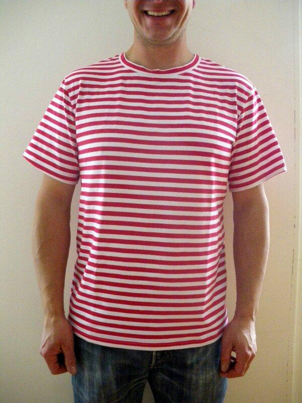 Tshirt rayé (5)