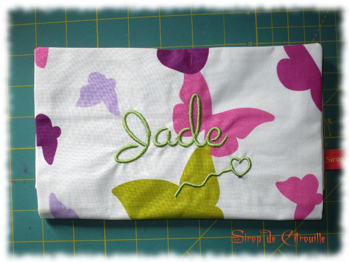 Pochette à barettes Jade 2