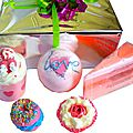 Coffret de bain love bomb cosmetics