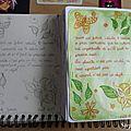 30 days of journaling: thème 22