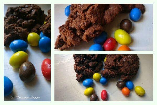 Cookies chocolat aux pépites de chocolat de Véro