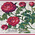 Roses rouges pour ce joli coffret...