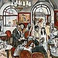 Campo marzio / place d'espagne. le quartier des artistes et de la mode (11/12). l'art du café au café greco.