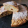 Visitandine vanille, fève tonka et brisures de biscuits speculoos