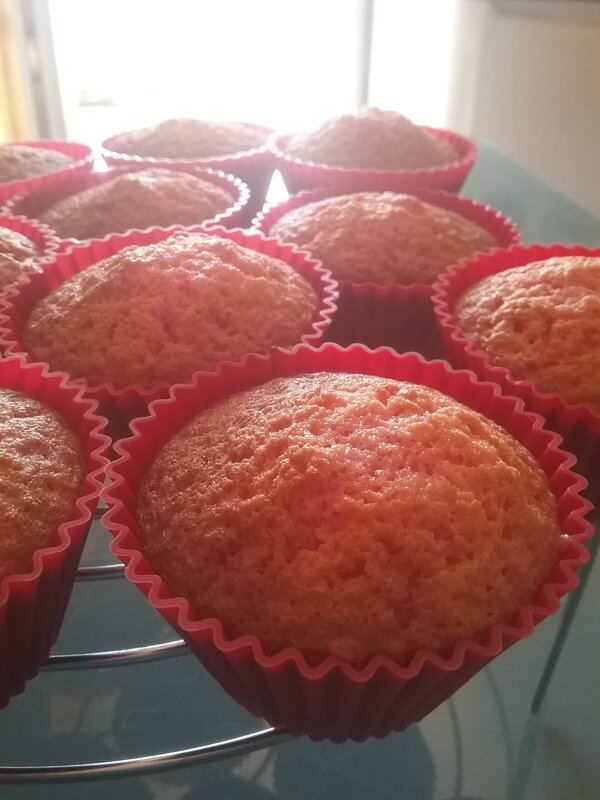 Muffins girly aux pralines 105