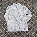 Tee-shirt col roulé, 2 ans