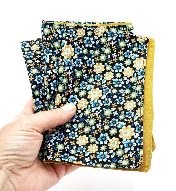 serviettes de table vanillejolie