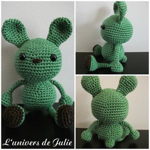Lapin Wasabi Little Muggles L'univers de Julie