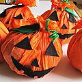 Préparatifs pour halloween 2ème prise...