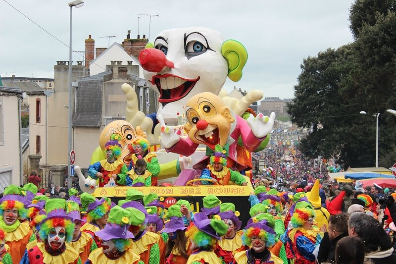 Carnaval de Granville février 2014