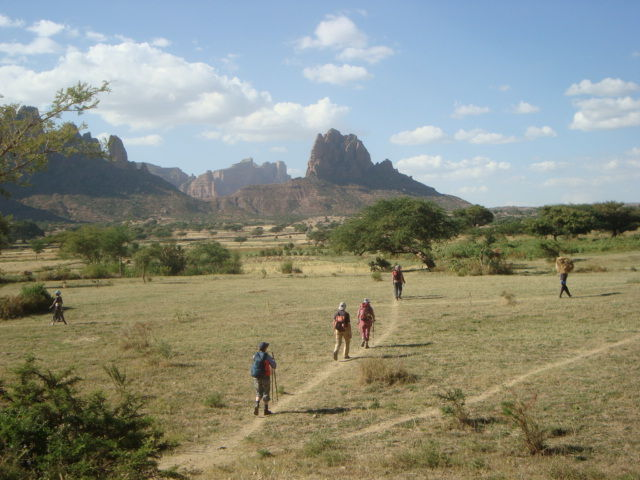 abyss land trekking route ,Tigray