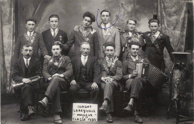 Durdat Larequille : classe 1930