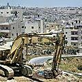 Colonisation en israël : « il est difficile d'injecter un sentiment d'urgence »