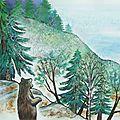 Publication de mon 3ème livre - le secret de la forêt - editions sépia