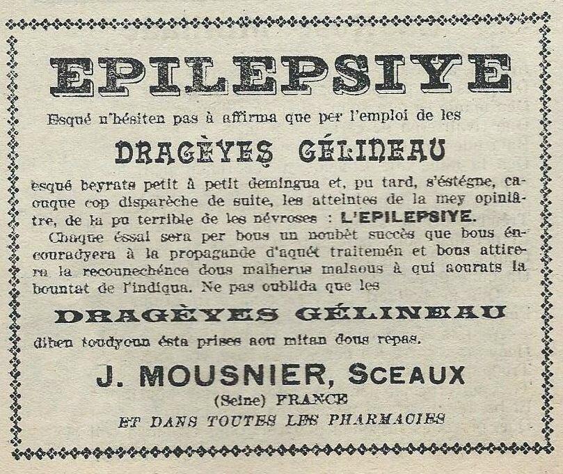 Lou Garounés 1927 Publicités (12)