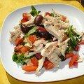 La slata mechouia - salade grillee- salade fraicheur