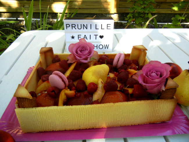 gateau cagette de fruits prunillefee 3