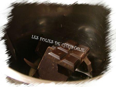Mousse au chocolat 1