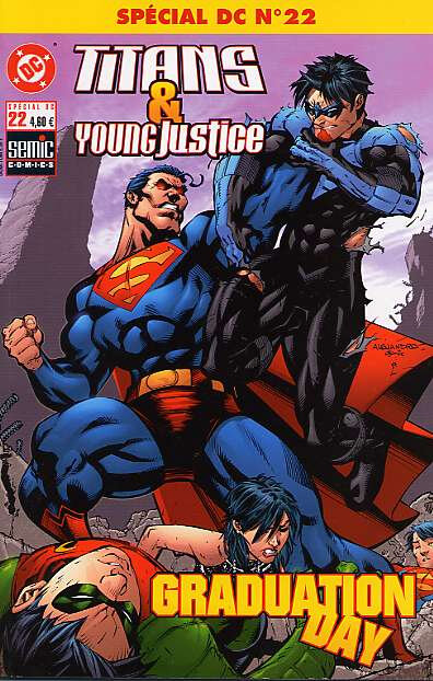 semic special DC 22 titans young justice graduation day