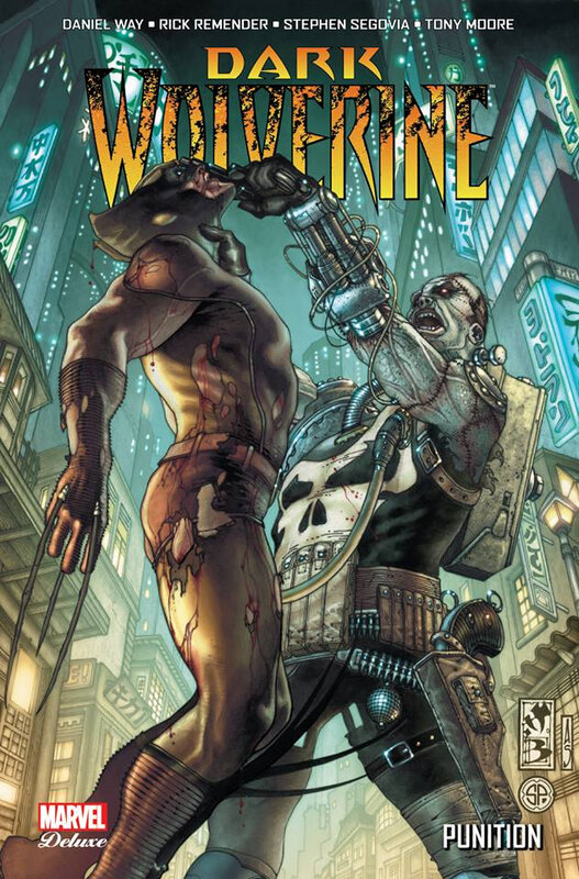 marvel deluxe dark wolverine 02 punition