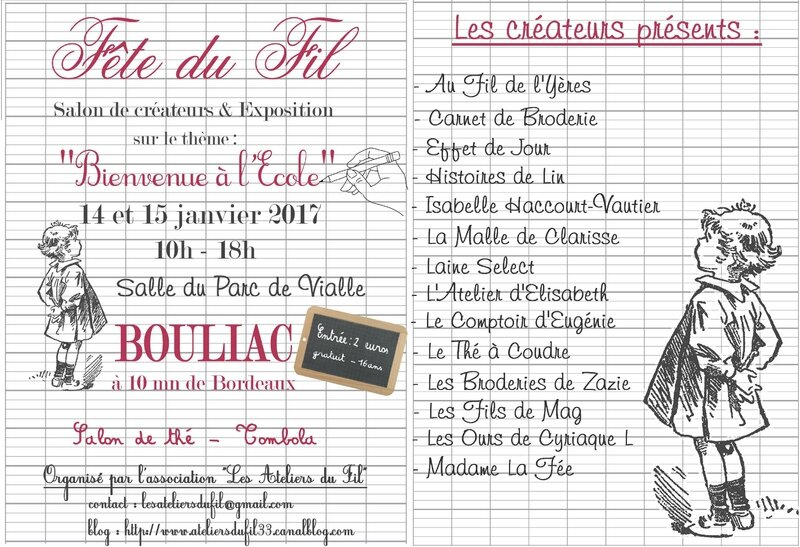 FLYER FETE DU FIL vCOLLAGE