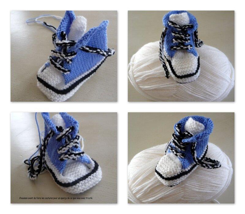 montage du chausson basket