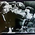 Le grand Sommeil - Lauren Bacall et Humphrey Bogart