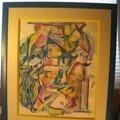 les curieuses pastels gras et aquarelles