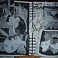 Page d'après Picasso