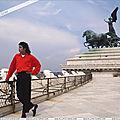 Michael Jackson visite Rome