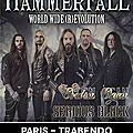 Hammerfall @ paris - 03 feb 2015 - live photos