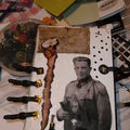 Mixed media... mon grand-pere
