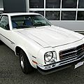 Chevrolet monza v8 5.0 litre notchback coupe 1978-1980
