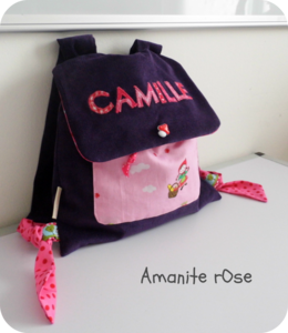 Sac maternelle Camille