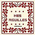 3 free ce jour - sampler aux fleurs - mes aiguilles - entourage porte photo ...