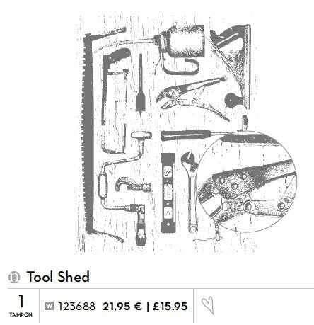 p129 tool shed