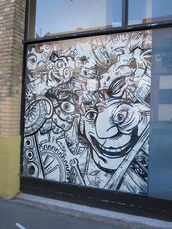 vitrine Journée du patrimoine - sept 2106 - Dunkerque