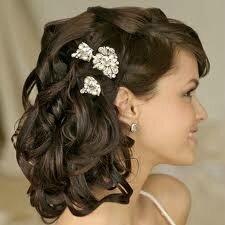 Longues coiffures de mariage pour la mariГ©e