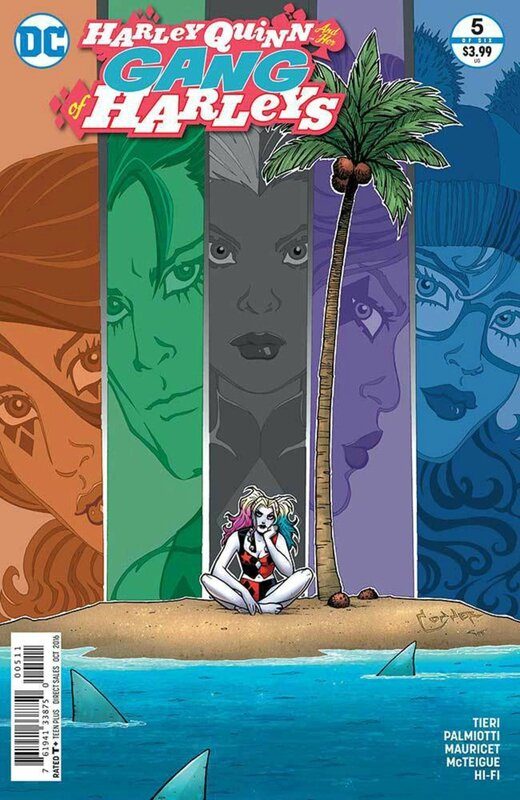 new 52 harley quinn and her gang of harleys 05