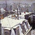 Paris sous son manteau de neige